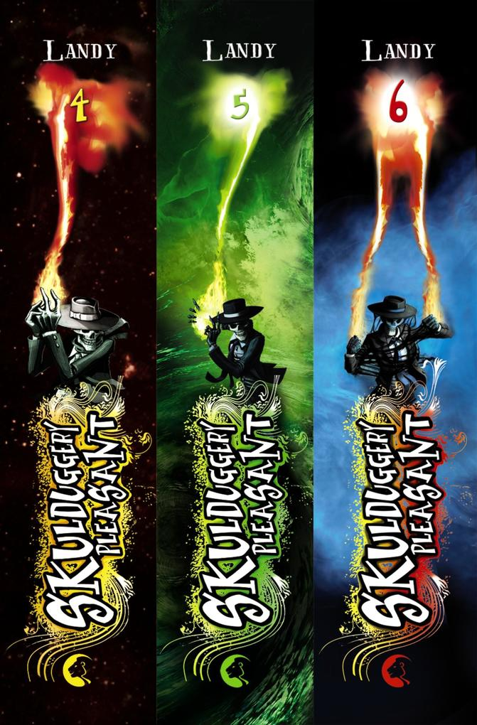 Skulduggery Pleasant: Band 4-6 als Bundle inkl. eShort als eBook