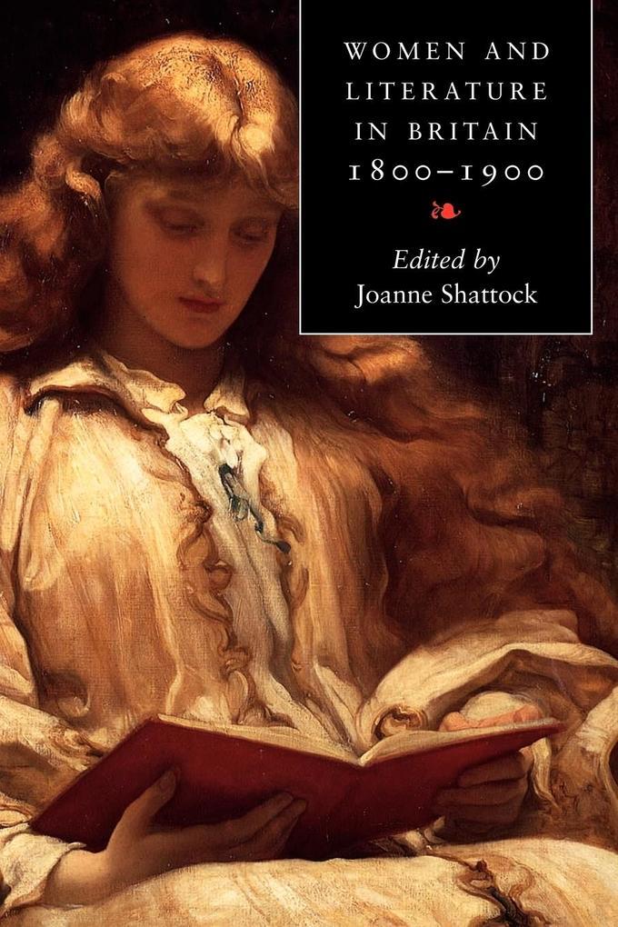 Women and Literature in Britain 1800 1900 als Buch