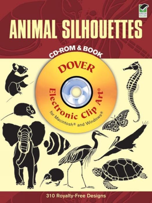 Animal Silhouettes [With CDROM] als Taschenbuch