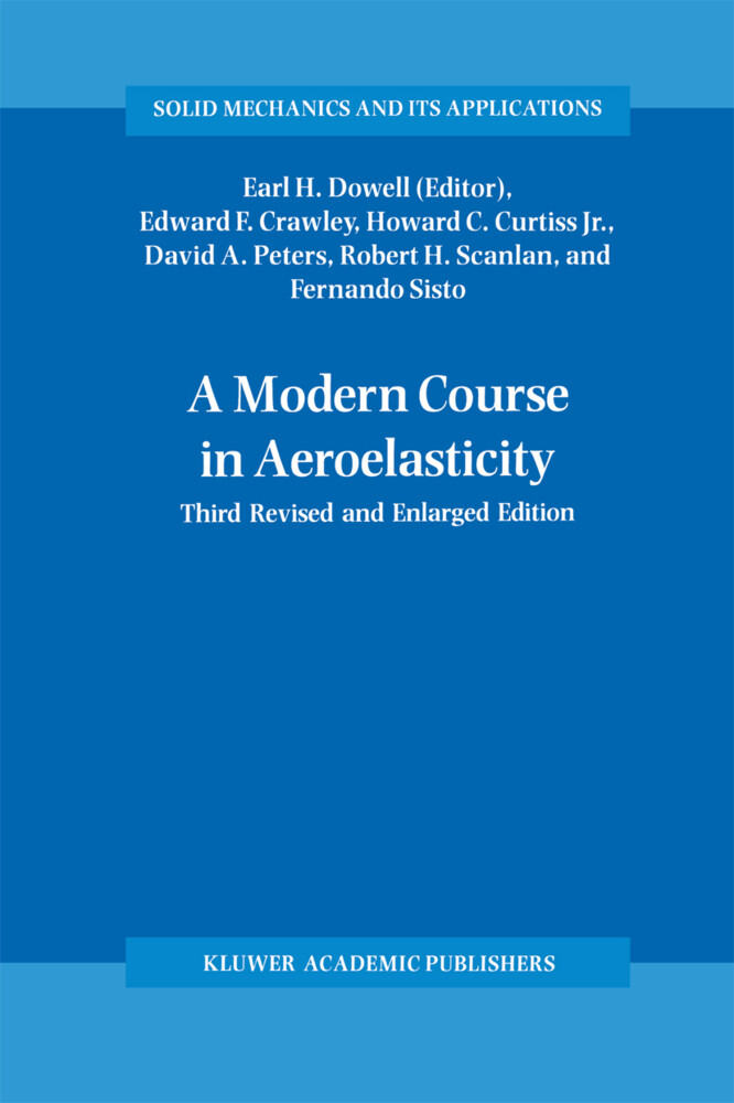 A Modern Course in Aeroelasticity als Buch