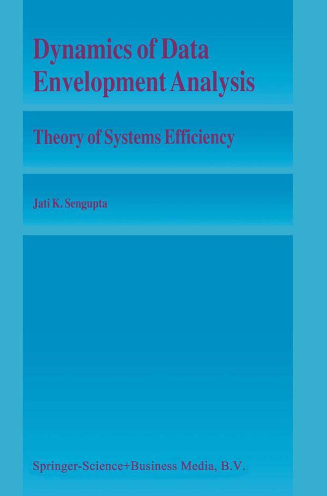 Dynamics of Data Envelopment Analysis als Buch