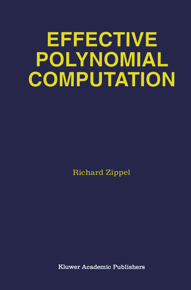 Effective Polynomial Computation als Buch