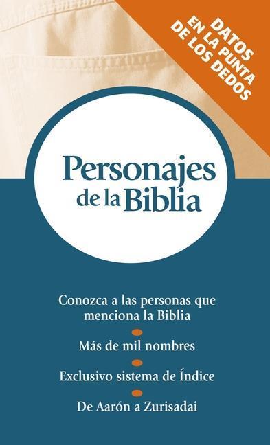 Personajes de La Biblia: Serie Referencias de Bolsillo als Taschenbuch
