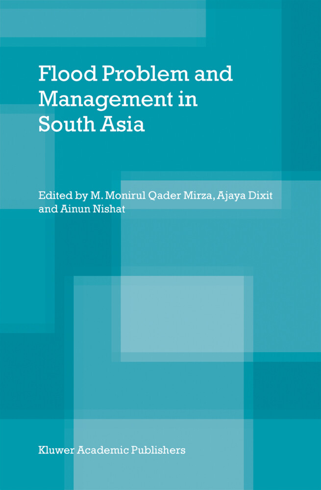 Flood Problem and Management in South Asia als Buch