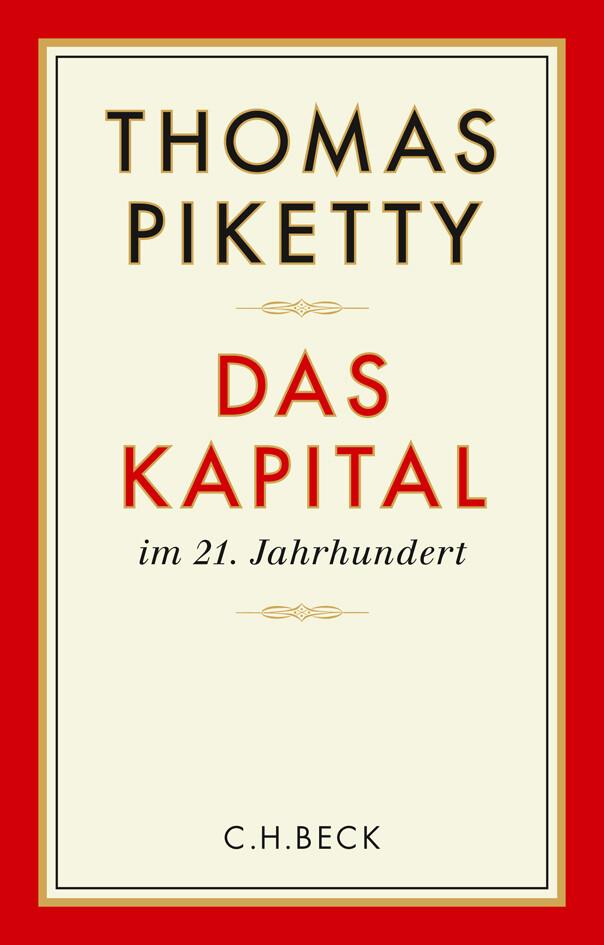 Das Kapital im 21. Jahrhundert als Buch