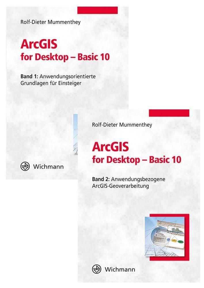ArcGIS for Desktop - Basic 10 (SET) als Buch von Rolf-Dieter Mummenthey