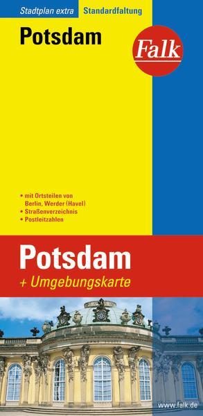 Falk Stadtplan Extra Standardfaltung Potsdam als Buch