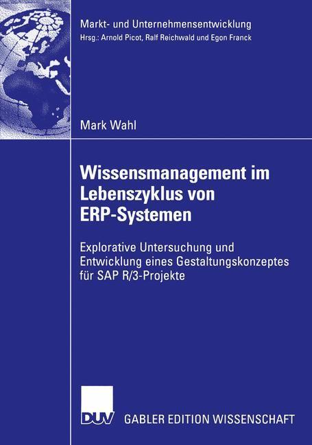 Wissensmanagement im Lebenszyklus von ERP-Systemen als Buch