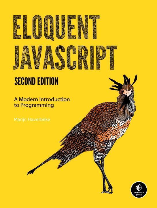 Eloquent JavaScript als Buch von Marijn Haverbeke