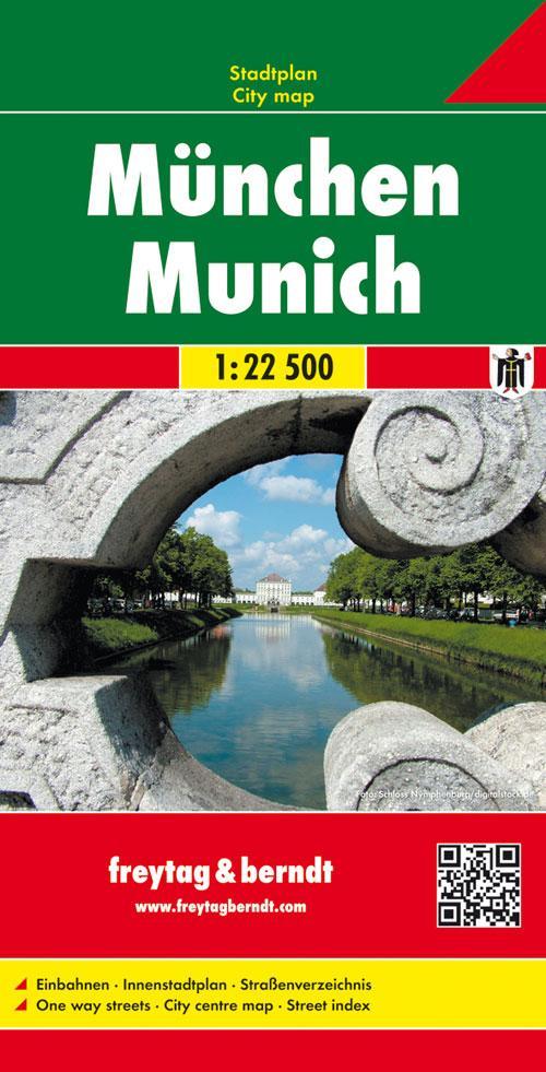 München Gesamtplan 1 : 22 500 als Buch