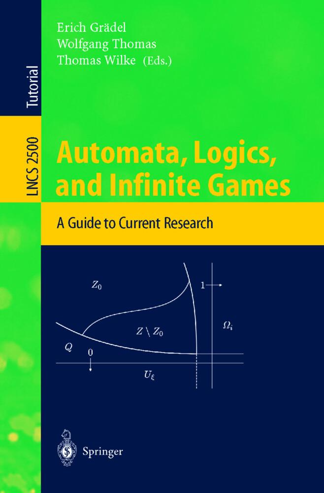 Automata, Logics, and Infinite Games als Buch