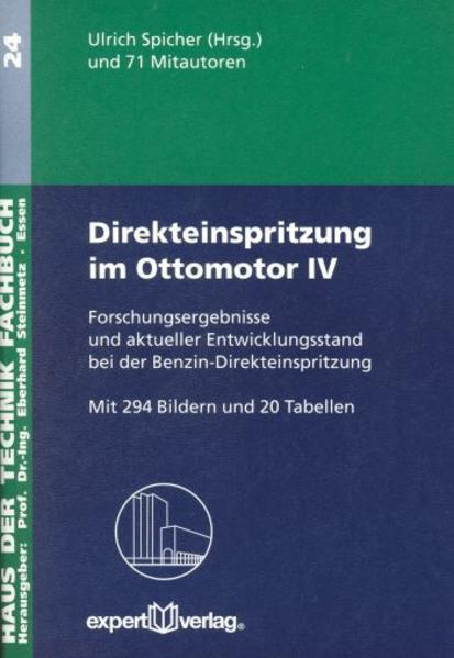 Direkteinspritzung im Ottomotor 4 als Buch