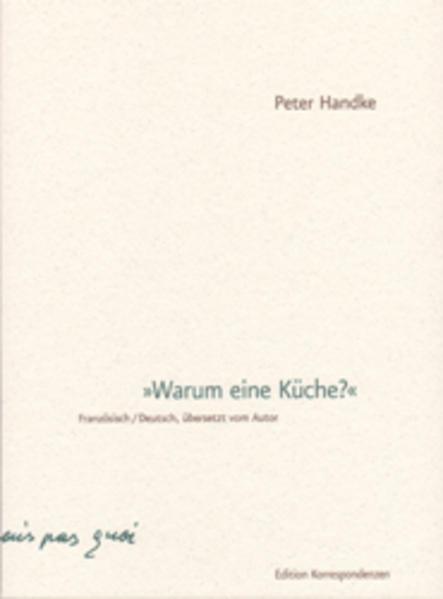 Warum eine Küche als Buch