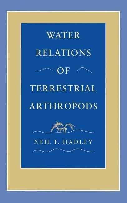 Water Relations of Terrestrial Arthropods als Buch