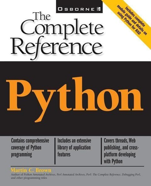 Python: The Complete Reference als Buch