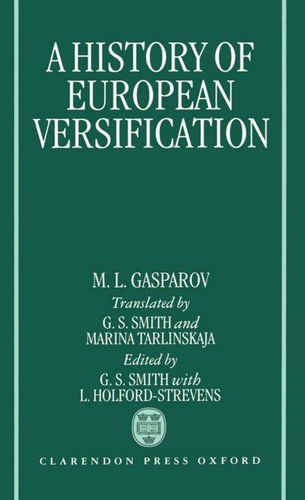 A History of European Versification als Buch