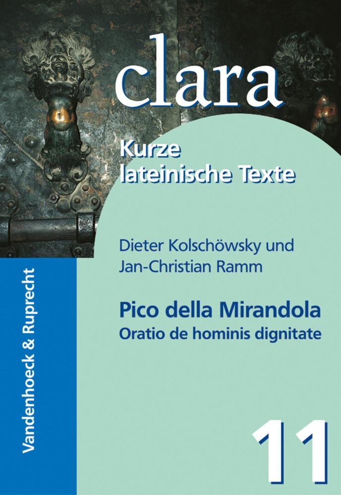 Oratio de hominis dignitate als Buch