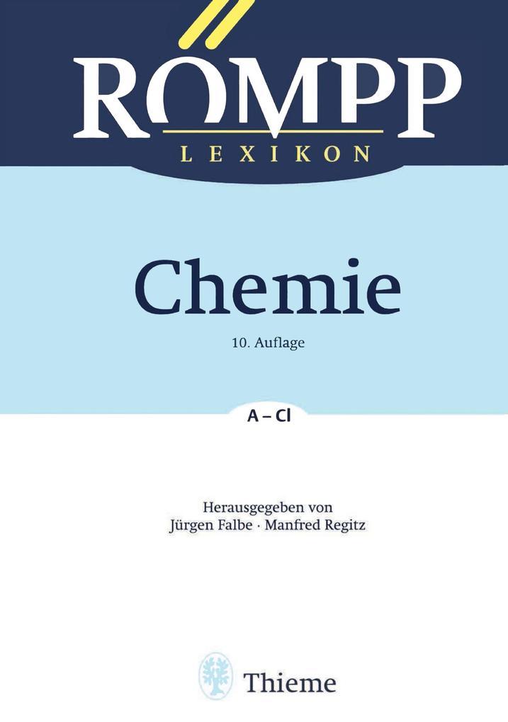 RÖMPP Lexikon Chemie 01 als eBook