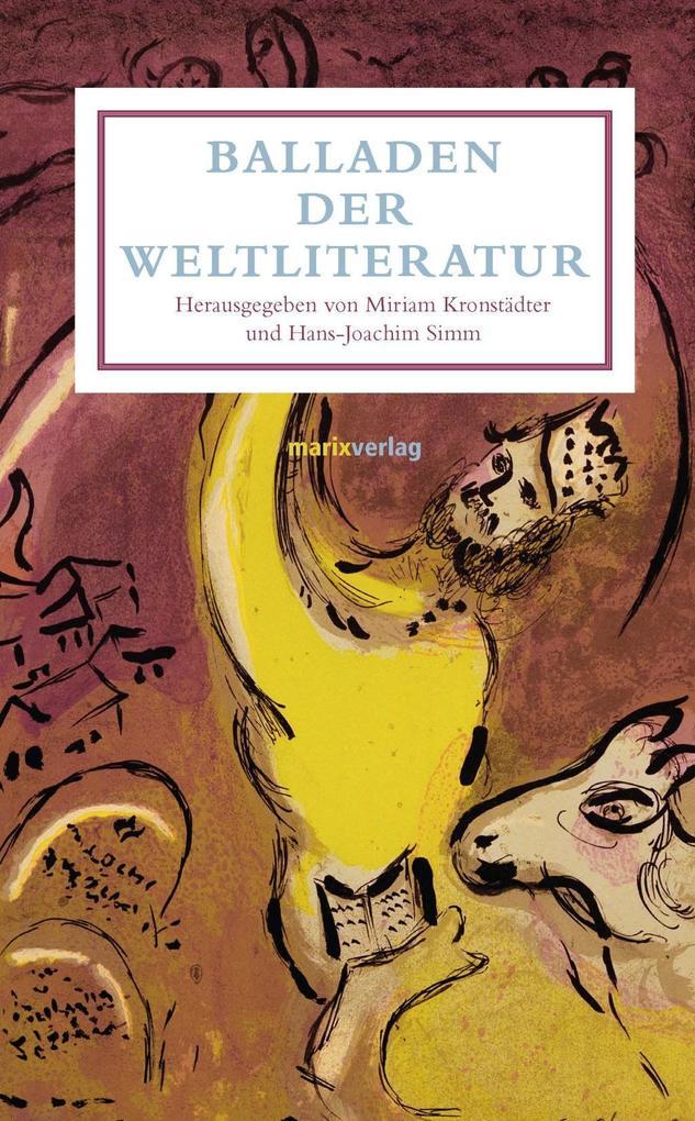 Balladen der Weltliteratur als Buch