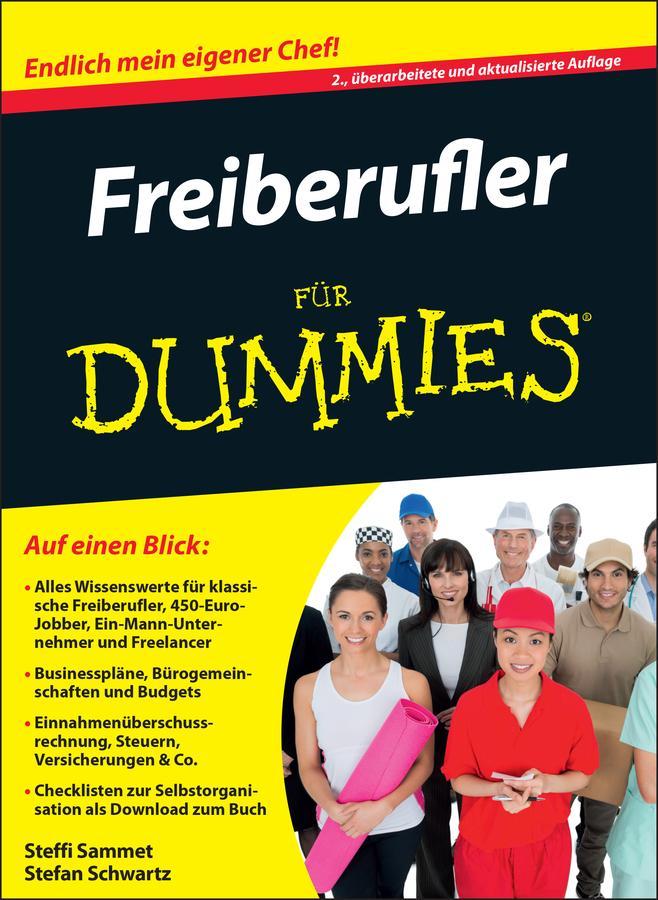 Freiberufler fÃ'r Dummies als eBook von Steffi Sammet, Stefan Schwartz