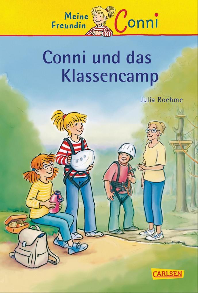 Conni-Erzählbände 24: Conni und das Klassencamp als eBook von Julia Boehme