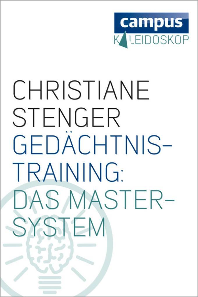 Gedächtnistraining: Das Master-System als eBook