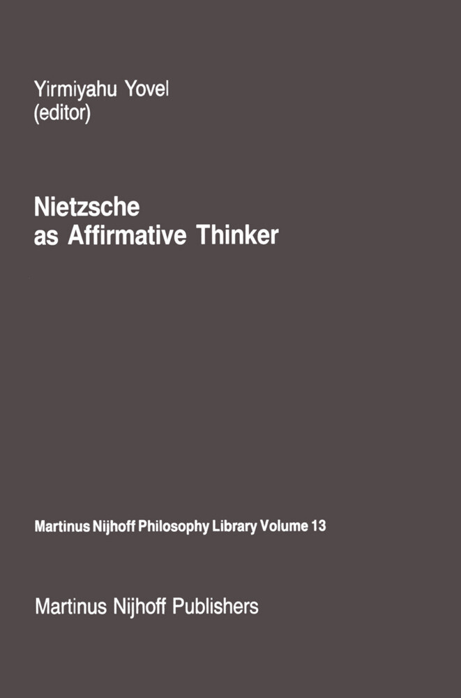 Nietzsche as Affirmative Thinker als Buch