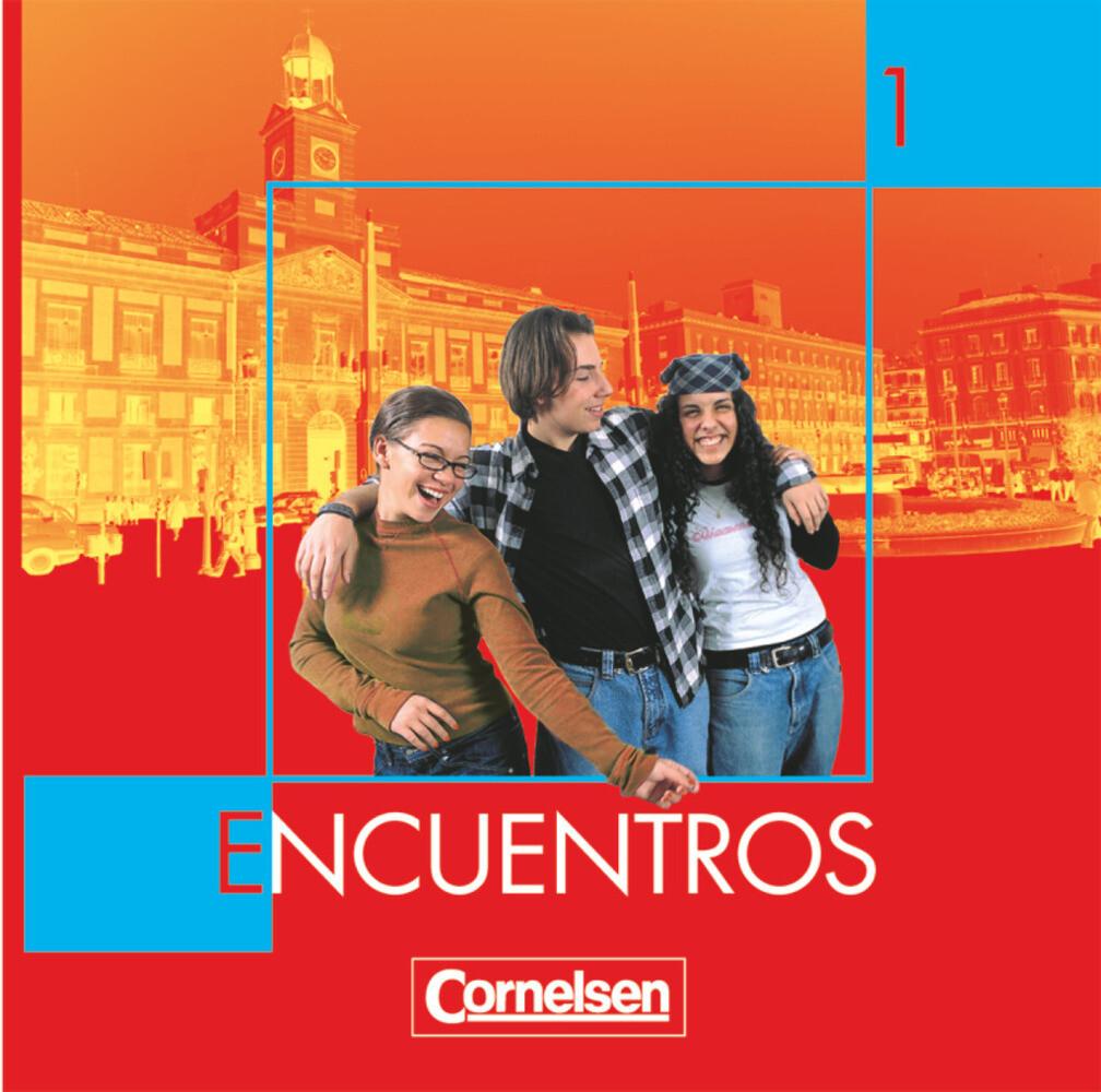 Encuentros 1. Nueva Edicion. CD als Hörbuch