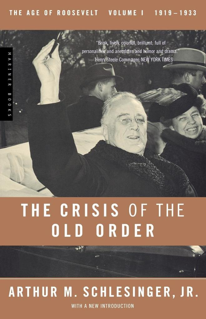 The Crisis of the Old Order, 1919-1933 als Taschenbuch