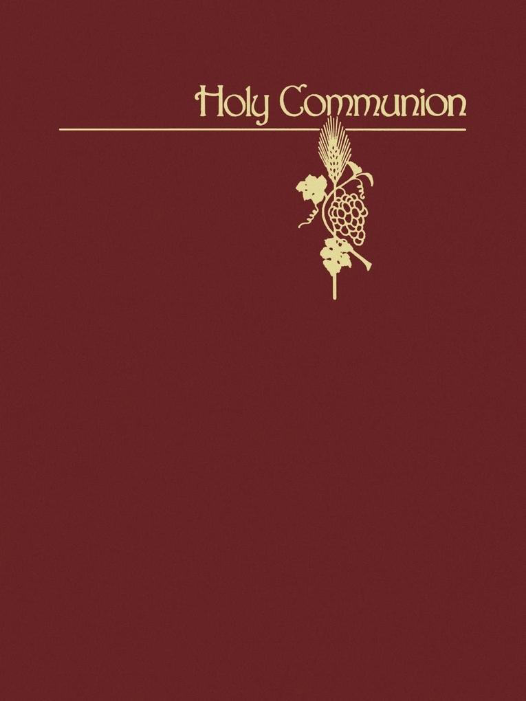 Holy Communion als Taschenbuch