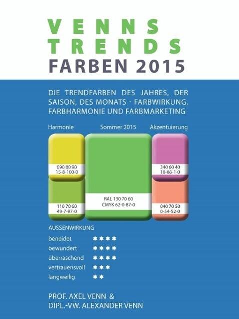 VENNS TRENDS FARBEN 2015 als eBook