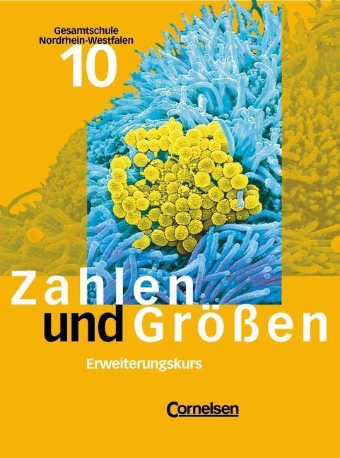 Zahlen und Größen 10. Schülerbuch Erweiterungskurs. Neue Ausgabe. Gesamtschule. Nordrhein-Westfalen als Buch