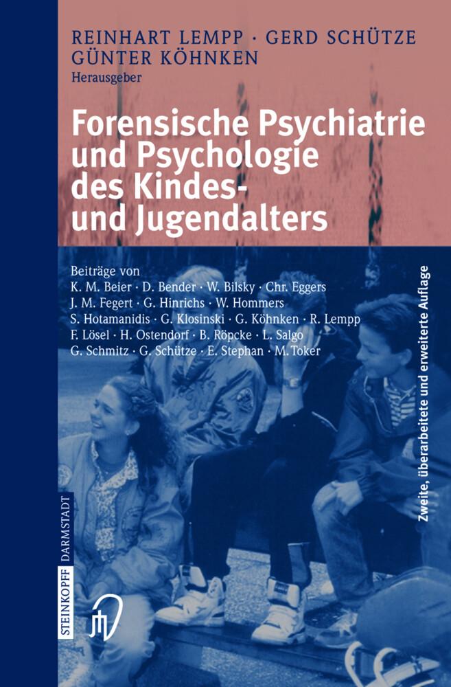 Forensische Psychiatrie und Psychologie des Kindes- und Jugendalters als Buch