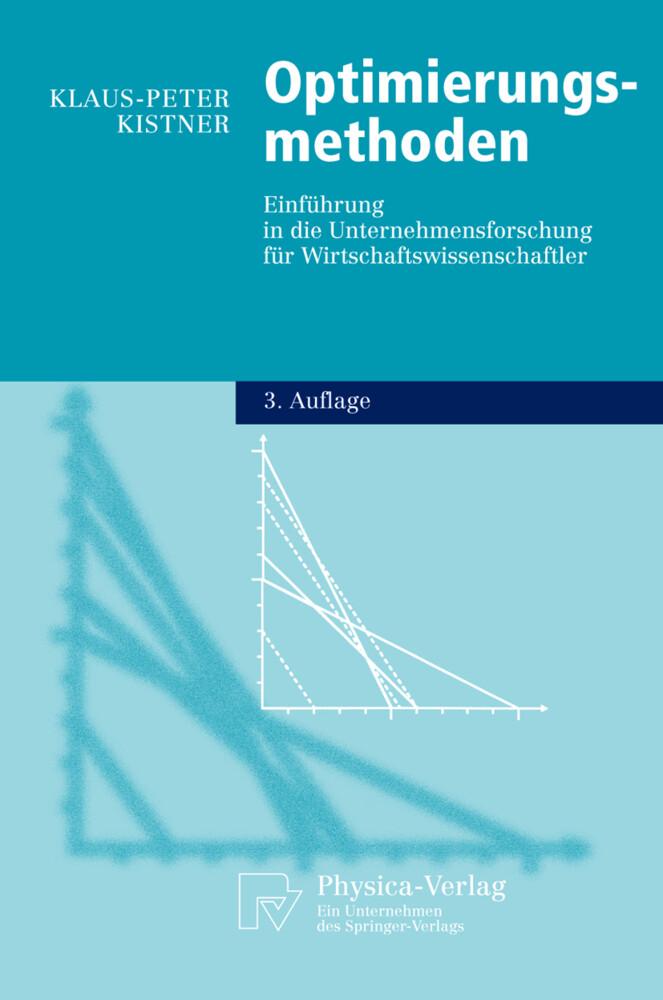 Optimierungsmethoden als Buch