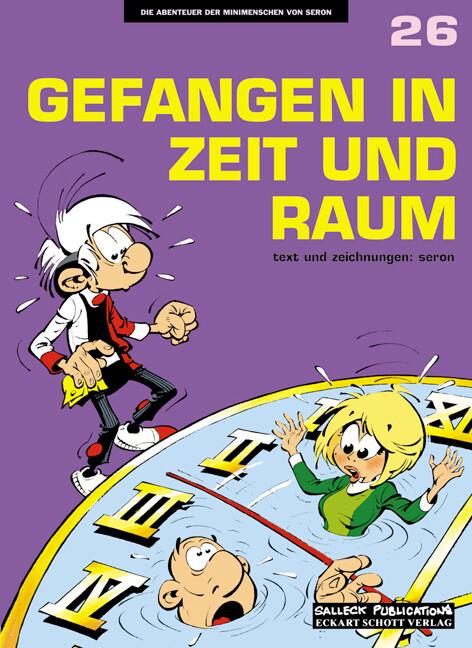 Die Abenteuer der Minimenschen 26. Gefangen in Zeit und Raum als Buch