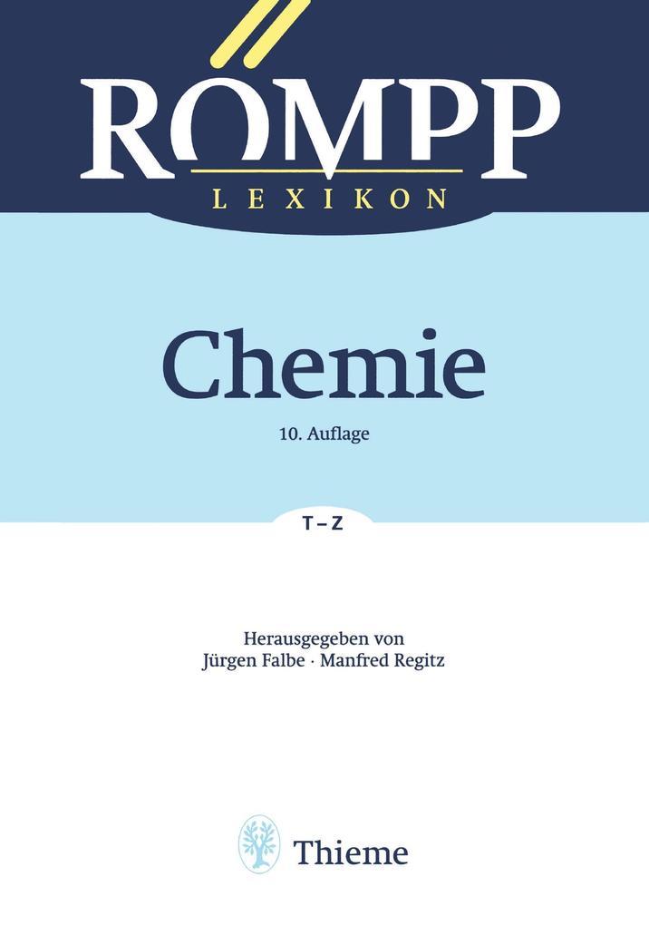 RÖMPP Lexikon Chemie 06, 10. Auflage, 1996-1999 als eBook