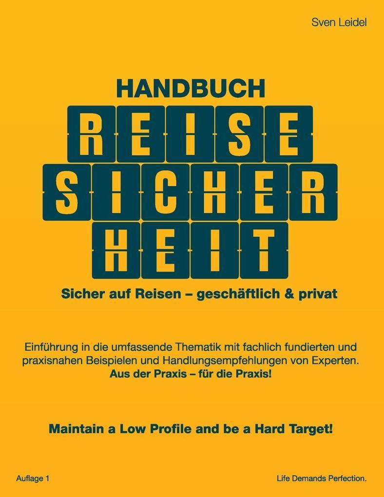 Handbuch Reisesicherheit als eBook