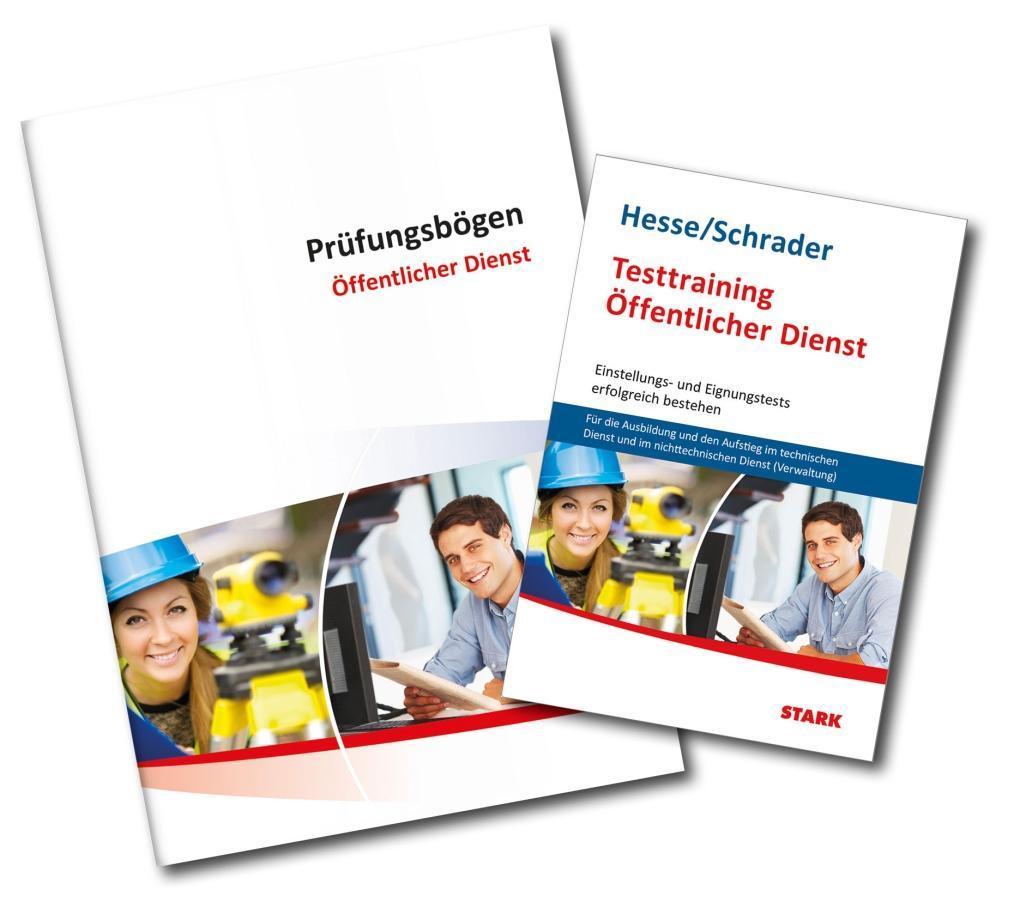 Testtraining Beruf & Karriere / Bundles Beruf & Karriere - Buch + Prüfungsbögen nicht-technischer Dienst als Buch von Jü