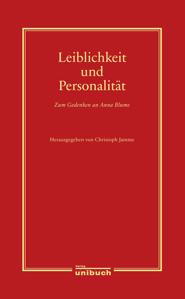 Leiblichkeit und Personalität als eBook