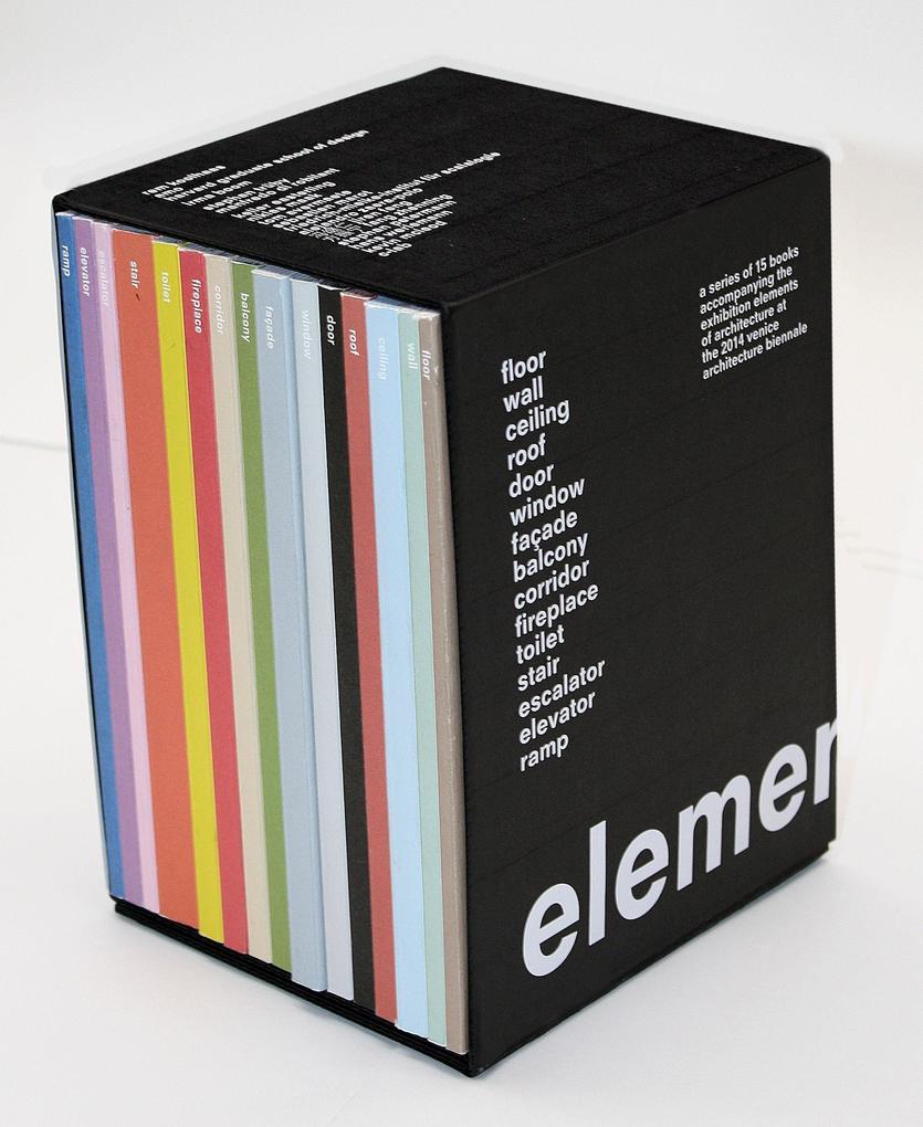 Elements als Buch von Rem Koolhaas