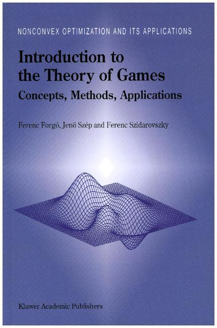 Introduction to the Theory of Games als Buch