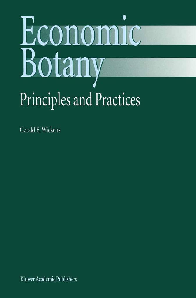 Economic Botany als Buch