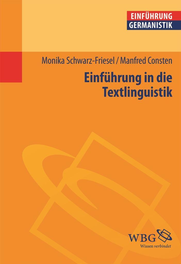 Einführung in die Textlinguistik als eBook