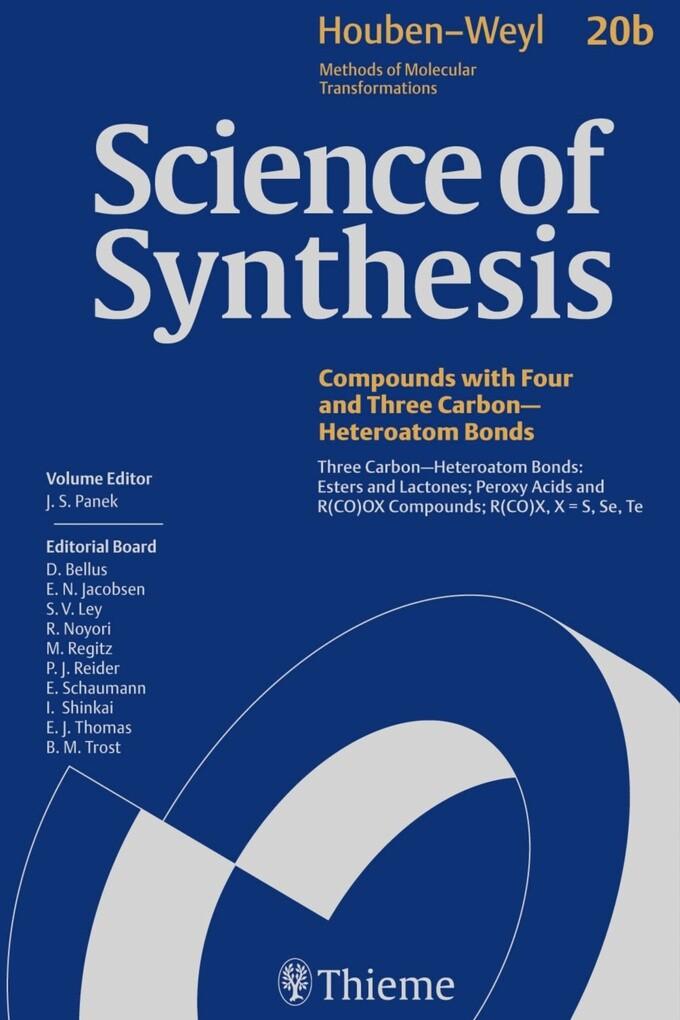 Science of Synthesis: Houben-Weyl Methods of Molecular Transformations Vol. 20b als eBook epub