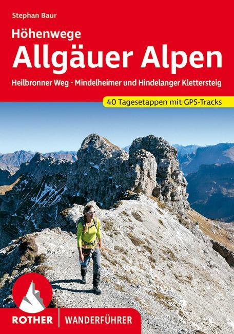 Allgäuer Alpen Höhenwege als Buch