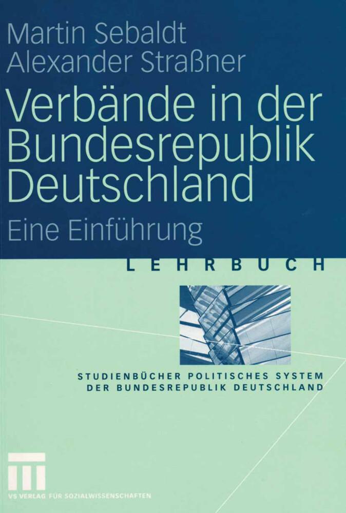 Verbände in der Bundesrepublik Deutschland als Buch