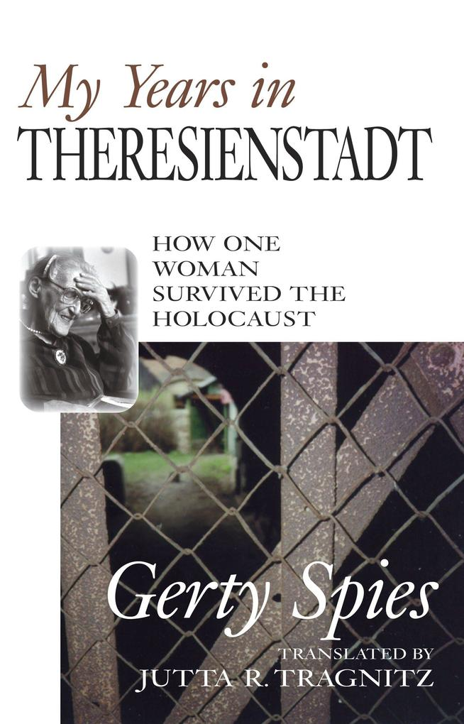 My Years In Theresienstadt als Buch