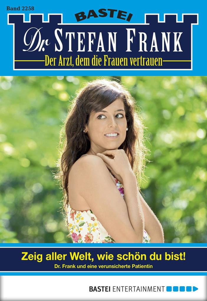 Dr. Stefan Frank - Folge 2258 als eBook