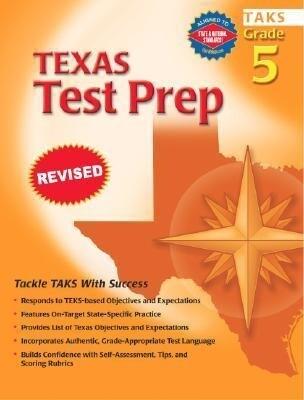 Spectrum Texas Test Prep, Grade 5 als Taschenbuch