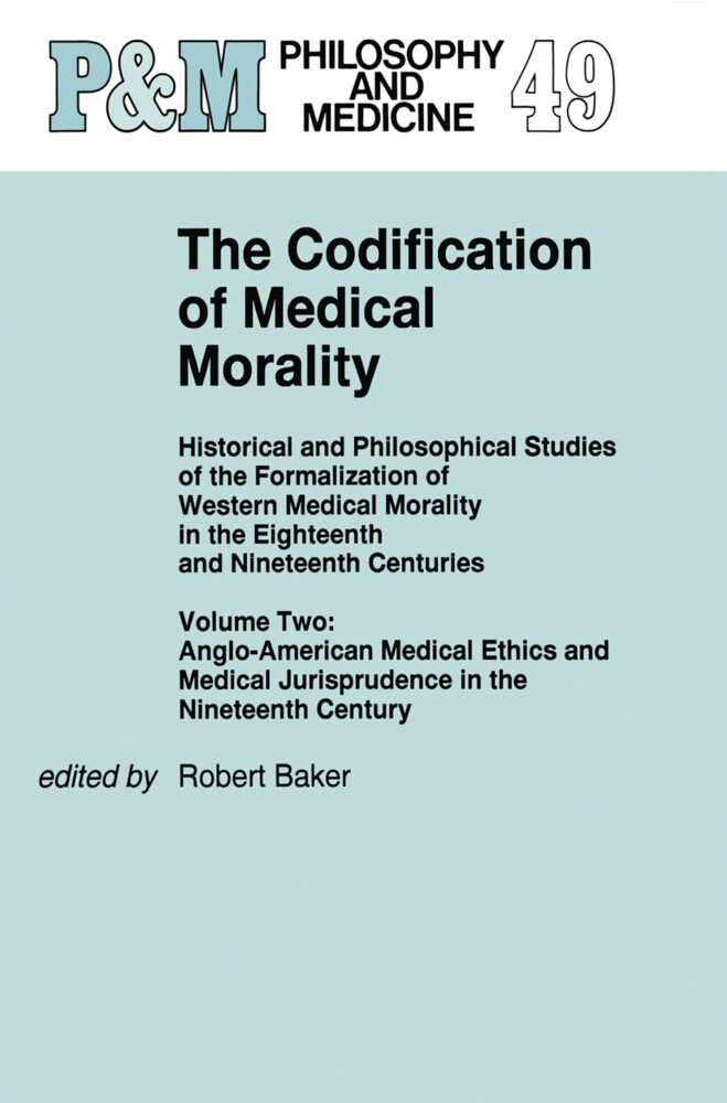 The Codification of Medical Morality als Buch